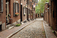 Acorn Street, Beacon Hill, Boston, MA