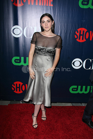 LOS ANGELES, CA - AUGUST 10: Isabelle Fuhrman at the CBS, CW, Showtime Summer TCA Party, Pacific Design Center in Los Angeles, California on August 10, 2015. Credit: David Edwards/MediaPunch