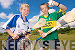 Children can enjoy a fun day out at Muckross Traditional farms this month with the launch of a Juvenile Hurling tournament in memory of Dr Bill Mangan which has been organised to promote hurling and other traditions of our country and county. .L-R Kieran O'Connor and John Joe Buckley