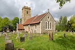 Village parish church of Saint Margaret of Antioch, Scottish, Suffolk, England, UK