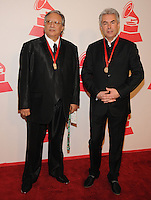 LAS VEGAS, NV - November 14: Gregg Field and Arturo Sandoval attend the Latin Grammys Person of the Year red carpet arrivals at the MGM Grand on November 14, 2012 in Las Vegas, Nevada. Photo By Kabik/ Starlitepics/MediaPunch Inc. /NortePhoto