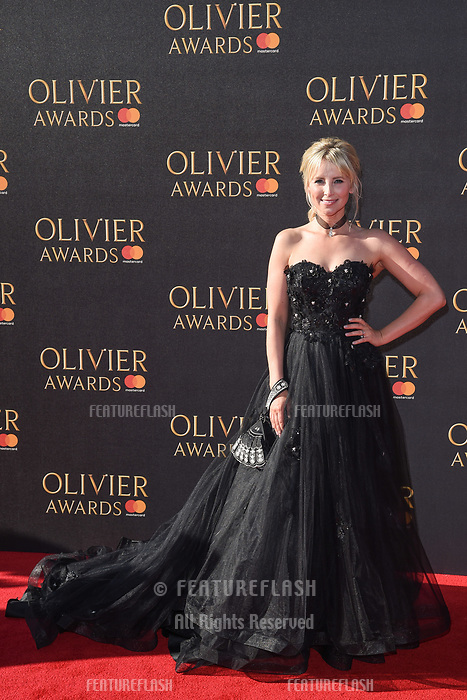 Carley Stenson at The Olivier Awards 2017 at the Royal Albert Hall, London, UK. <br /> 09 April  2017<br /> Picture: Steve Vas/Featureflash/SilverHub 0208 004 5359 sales@silverhubmedia.com