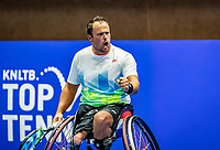 Alphen aan den Rijn, Netherlands, December 22, 2019, TV Nieuwe Sloot,  NK Tennis, Wheelchair final men single: Tom Egberink (NED) <br /> Photo: www.tennisimages.com/Henk Koster