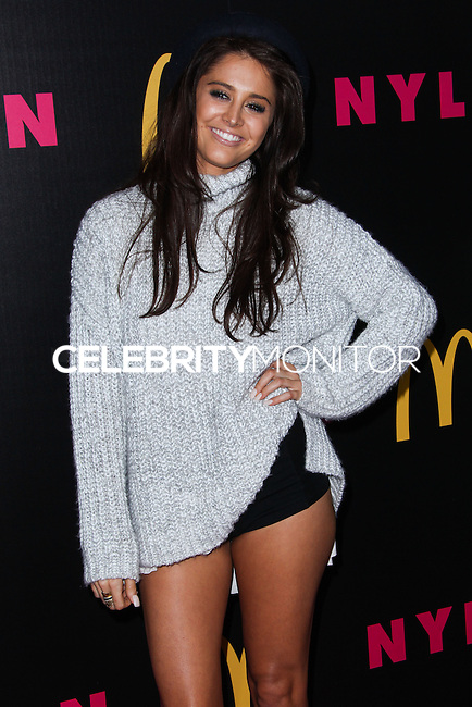 WEST HOLLYWOOD, CA - DECEMBER 05: Moxie Raia arriving at the Nylon Magazine December 2013/January 2014 Cover Launch Party held at Quixote Studios on December 5, 2013 in West Hollywood, California. (Photo by Xavier Collin/Celebrity Monitor)