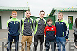 l-r  Stephen Murphy, Aidan McCabe, Brian Murphy, Bobby O'Connell and Danny Collins att the Kerry GAA Night of Champions at the Kingdom Greyhound Stadium on Friday