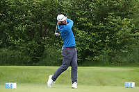 James Heath (ENG) in action during the first round of the Hauts de France-Pas de Calais Golf Open played at Aa Saint-Omer GC, Saint - Omer, France. 13/06/2019<br /> Picture: Golffile | Phil Inglis<br /> <br /> <br /> All photo usage must carry mandatory copyright credit (© Golffile | Phil Inglis)