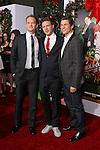 "NEIL PATRICK HARRIS, TODD STRAUSS-SCHULSON, DAVID BURTKA. Los Angeles Premiere of ""Harold & Kumar 3D Christmas,"" at Grauman's Chinese Theatre. Hollywood, CA USA. November 2, 2011. ©CelphImage"