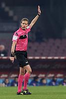 Arbitro Daniele Chiffi, referee<br /> Napoli 13-01-2019  Stadio San Paolo <br /> Football Italy Cup 2018/2019, round of 16<br /> Napoli - Sassuolo<br /> Foto Cesare Purini / Insidefoto