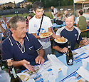 "SAGRA DEL ""PESCE E PATATE"" 2011, BARGA, ITALY<br /> <br /> THE FISH AND CHIPS ARE SERVED."