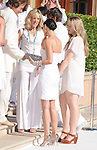 Demi Moore Kutcher,Marla Maples & Tiffany Trump at The White Party presented by P-Diddy ,Ashton Kutcher & Malaria No More held at  private Estate in Cold Water Canyon, California on July 04,2009                                                                   Copyright 2009 Debbie VanStory / RockinExposures