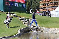Ricardo Gouveia (POR) walks to the 18th green during Thursday's Round 1 of the 2017 Omega European Masters held at Golf Club Crans-Sur-Sierre, Crans Montana, Switzerland. 7th September 2017.<br /> Picture: Eoin Clarke | Golffile<br /> <br /> <br /> All photos usage must carry mandatory copyright credit (&copy; Golffile | Eoin Clarke)