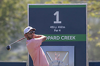 Jack Singh Brar (ENG) during the 1st round of the Alfred Dunhill Championship, Leopard Creek Golf Club, Malelane, South Africa. 28/11/2019<br /> Picture: Golffile | Shannon Naidoo<br /> <br /> <br /> All photo usage must carry mandatory copyright credit (© Golffile | Shannon Naidoo)