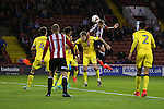 Harry Chapman of Sheffield Utd scores the winning goal during the League One match at Bramall Lane Stadium, Sheffield. Picture date: September 27th, 2016. Pic Simon Bellis/Sportimage