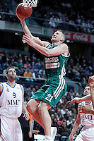 Zalgiris Kaunas' Rimantas Kaukenas during Euroleague 2012/2013 match.January 11,2013. (ALTERPHOTOS/Acero) NortePHOTO