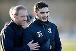 St Johnstone Training&hellip;.14.12.18    McDiarmid Park<br />Steven Anderson and Tony Watt pictured during training this morning ahead of tomorrows game against Motherwell<br />Picture by Graeme Hart.<br />Copyright Perthshire Picture Agency<br />Tel: 01738 623350  Mobile: 07990 594431
