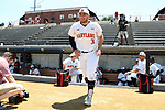 WINSTON-SALEM, NC - JUNE 02: Maryland's Nick Cieri. The West Virginia University Mountaineers played the University of Maryland Terrapins on June 2, 2017, at David F. Couch Ballpark in Winston-Salem, NC in NCAA Division I College Baseball Tournament Winston-Salem Regional Game 1. West Virginia won the game 9-1.