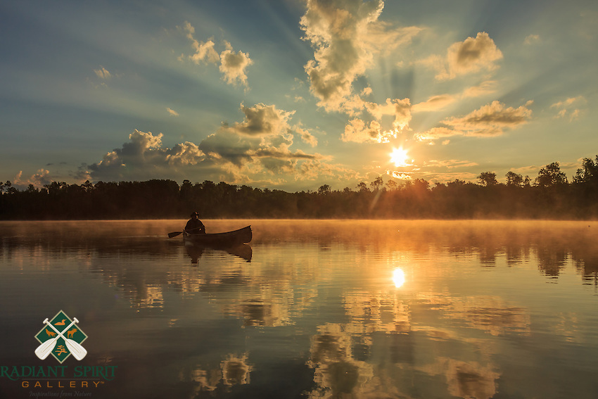 &quot;Canoe Country Radiance III&quot;<br />