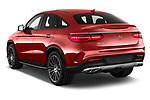 Car pictures of rear three quarter view of 2016 Mercedes Benz GLE-Class-Coupe GLE450-AMG 5 Door SUV Angular Rear