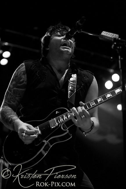 Hinder perform at Comcast Center in Hartford on May 20 2011