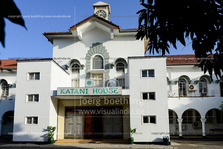 TANZANIA Tanga, Sisal Board in old Katani House, the building was built during german colonial time / TANSANIA Tanga, Sisal Board im Katani House, gebaut in der Zeit der deutschen Kolonie Ostafrika
