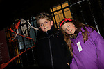 Daniel and Eleanor Tierney at the ghost tours in Millmount<br /> Picture: Fran Caffrey www.newsfile.ie