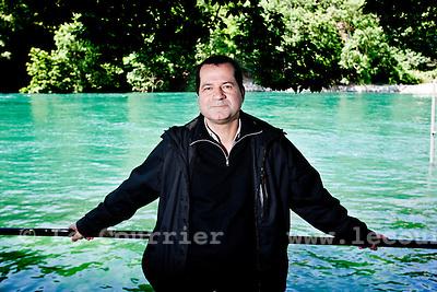 Genève, le 23.06.2010.Olivier Baud de la SPG.© Le Courrier / J.-P. Di Silvestro