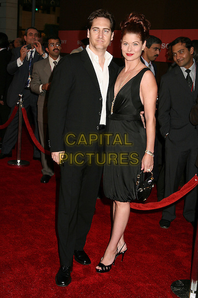 DANIEL ZELMAN & DEBRA MESSING.Sony Global Marketing Partners? Conference Closing Celebration on Rodeo Drive, Beverly Hills, California, USA, 29 September 2006..full length black dress married husband wife.Ref: ADM/BP.www.capitalpictures.com.sales@capitalpictures.com.©Byron Purvis/AdMedia/Capital Pictures.