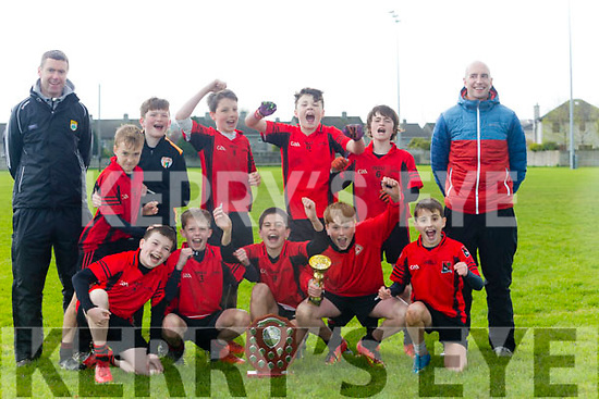 Allianz Cumann na mBunscol  Schools Mini Sevens County finals at Caherslee GAA Ground  on Monday winners Fossa Boys