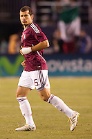 Alejandro Moreno (15) forward for Venezuela. The national teams of Mexico and Venezuela played to a 1-1 draw in an International friendly match at  Qualcomm stadium in San Diego, California on  March 29, 2011...