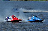 Frame 13: Final lap of heat race 2: Jeremiah Mayo (#8), Chris Hughes (#17)       (SST-45)