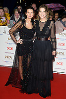 LONDON, UK. January 22, 2019: Charley Webb &amp; Emma Atkins at the National TV Awards 2019 at the O2 Arena, London.<br /> Picture: Steve Vas/Featureflash