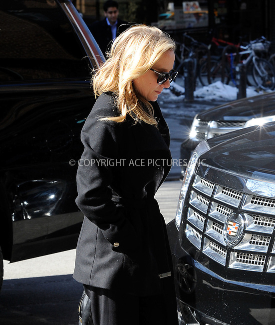 WWW.ACEPIXS.COM<br /> <br /> February 25 2015, New York City<br /> <br /> Actress Anne Heche arrives at a downtown hotel on February 25 2015 in New York City<br /> <br /> By Line: Curtis Means/ACE Pictures<br /> <br /> <br /> ACE Pictures, Inc.<br /> tel: 646 769 0430<br /> Email: info@acepixs.com<br /> www.acepixs.com