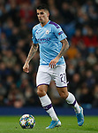 Joao Cancelo of Manchester City during the UEFA Champions League match against Shakhtar Donetsk at the Etihad Stadium, Manchester. Picture date: 26th November 2019. Picture credit should read: Darren Staples/Sportimage