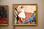 Henrik Sorenson 'Artists' 1910, oil on canvas painting, Kode 3 art gallery Bergen, Norway