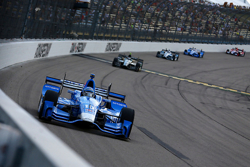 Verizon IndyCar Series<br /> Iowa Corn 300<br /> Iowa Speedway, Newton, IA USA<br /> Sunday 9 July 2017<br /> Tony Kanaan, Chip Ganassi Racing Teams Honda<br /> World Copyright: Phillip Abbott<br /> LAT Images<br /> ref: Digital Image abbott_iowa_0717_5652