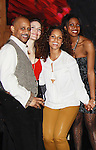 Ruben Santiago-Hudson, Rosie Benson, Alicia Keys, Condola Rashad - Broadway's Stick Fly at the Cort Theatre, New York City, New York with after party at 48 Lounge with Alicia Keys and cast - Ruben Santiago-Hudson, Phylicia Rahad (Santa Barbara and OLTL) - mom of Condola (in cast) along with Tracie Thoms, Dulle Hill (Psych), Mekhi Phifer. (Photo by Sue Coflin/Max Photos)
