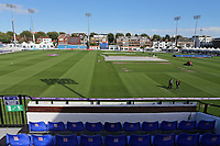 General view of the ground ahead of Sussex Sharks vs Essex Eagles, NatWest T20 Blast Cricket at The 1st Central County Ground on 18th August 2017