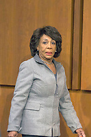 United States Representative Maxine Waters (Democrat of California) attends the US Senate Intelligence Committee hearing on Russian use of social media to affect the outcome of the 2016 election on Capitol Hill in Washington, D.C. on November 1st, 2017. <br /> Credit: Alex Edelman / CNP /MediaPunch