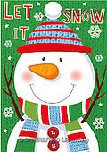 Patrick, CHRISTMAS SANTA, SNOWMAN, WEIHNACHTSMÄNNER, SCHNEEMÄNNER, PAPÁ NOEL, MUÑECOS DE NIEVE, paintings+++++,GBIDSP302,#X#