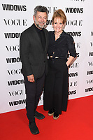 "Andy Serkis and wife, Lorraine Ashbourne<br /> arriving for the ""Widows"" special screening in association with Vogue at the Tate Modern, London<br /> <br /> ©Ash Knotek  D3457  31/10/2018"