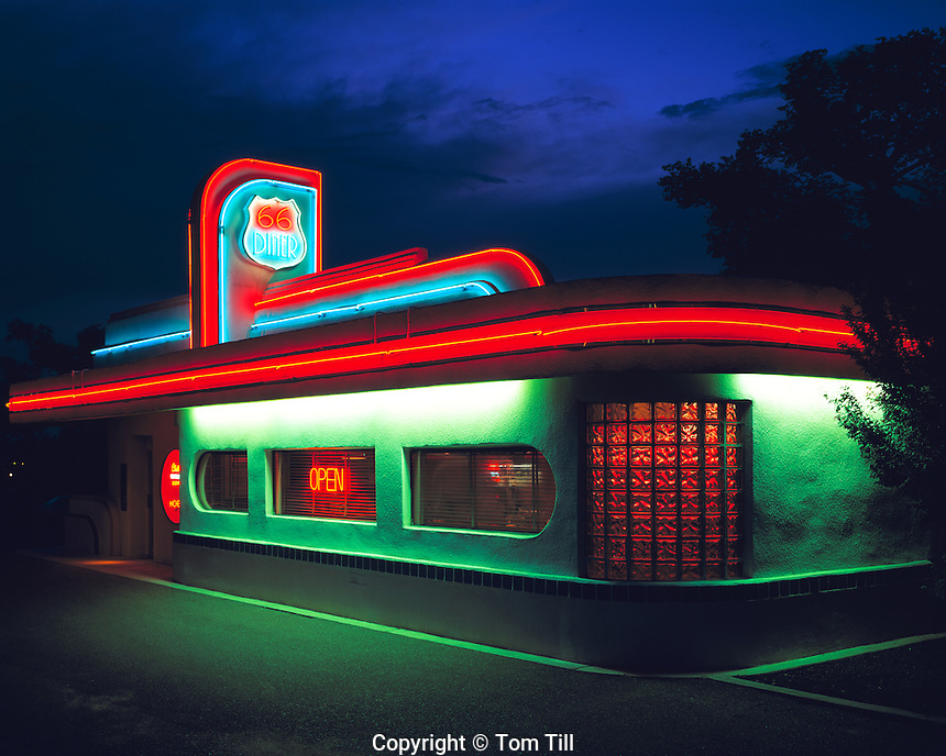 66 Diner, Along Old Route 66, New Mexico