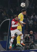 Christian Maggio    durante l'incontro di calcio di Champions Leahue  Napoli Arsenal allo  Stadio San Paolo  di Napoli , 13 Dicembre  2013<br /> Foto Ciro De Luca