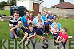 Children from Bud's Ballyduff childcare centre with their parents and carers: Paul Noonan, Mairead Flaherty, Chloe O'Sullivan, Daithi Nolan, Laura healy, Taylor O'Sullivan, Karina O'Connell, Patrick Kirby, Jack McSweeney, Kiera O'Sullivan and Cara Nolan.