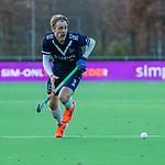 AMSTELVEEN -  Gijs van Wagenberg (Pinoke)  tijdens de competitie hoofdklasse hockeywedstrijd heren, Pinoke-Amsterdam (1-1)   COPYRIGHT KOEN SUYK
