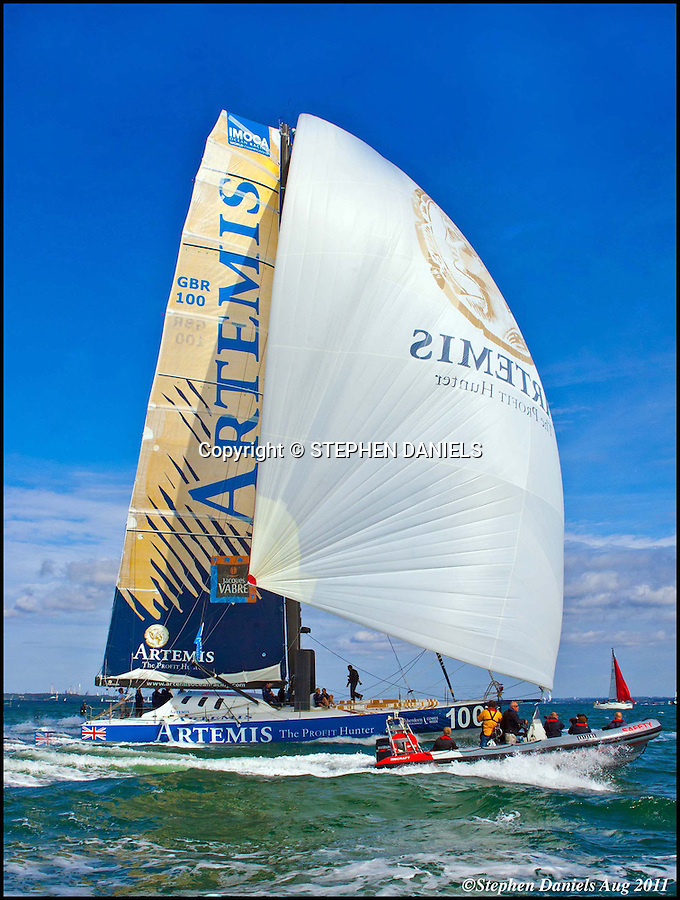 Photo by © Stephen Daniels  2011<br /> The Artemis Challenge races at Cowes Week, Cowes, Isle of White.
