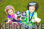 DANCING SENSATIONS: Sisters Kate and Mary-Claire Crowley from Mounthawk won the European Irish Dancing Championships in Spain at the weekend.