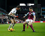 Chris Basham of Sheffield Utd and James Chester of Aston Villa during the Championship match at Villa Park Stadium, Birmingham. Picture date 23rd December 2017. Picture credit should read: Simon Bellis/Sportimage