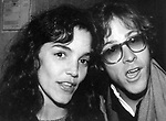 Brooke Adams and John Heard on October 1, 1980 in New York City.