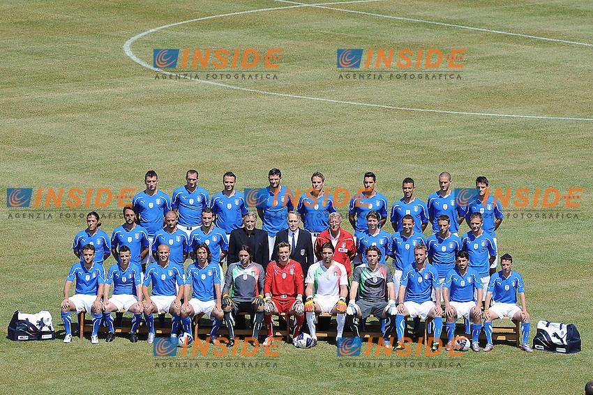 Foto Ufficiale Nazionale Italia - Coppa del Mondo Sudafrica 2010<br /> Sestriere 26/5/2010 <br /> Foto FIGC/Andrea Staccioli Insidefoto