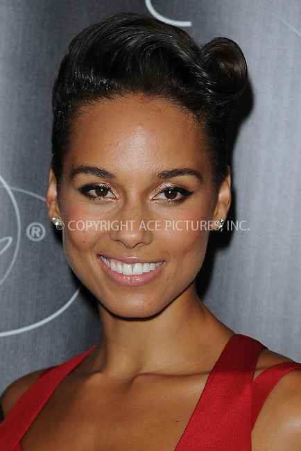WWW.ACEPIXS.COM <br /> November 7, 2013 New York City<br /> <br /> Alicia Keys attends Keep A Child Alive's 10th Annual Black Ball at Hammerstein Ballroom on November 7, 2013 in New York City.<br /> <br /> Please byline: Kristin Callahan  <br /> <br /> ACEPIXS.COM<br /> Ace Pictures, Inc<br /> tel: (212) 243 8787 or (646) 769 0430<br /> e-mail: info@acepixs.com<br /> web: http://www.acepixs.com